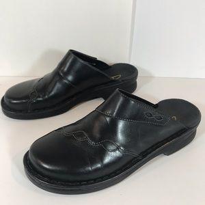 Clark's Black Clogs